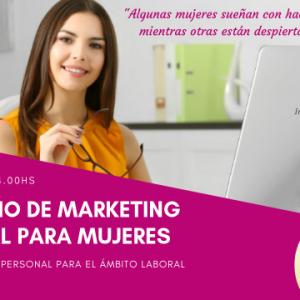 Seminario De Marketing Personal Para Mujeres 23 de Marzo